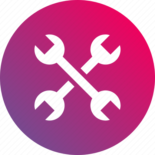 gradient, options, preferences, settings, tool, tools, wrench icon
