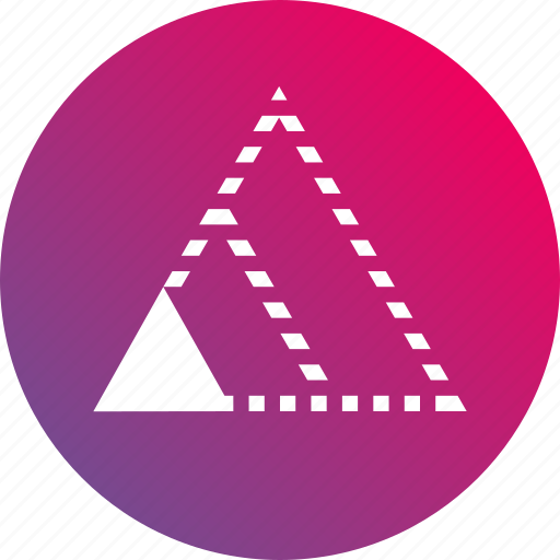 gradient, minimum viable product, scalability, startup, triangle icon
