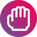 cursor, grab, gradient, hand, hold, mouse, pan icon