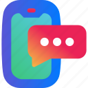 bubble, chat, communication, message, phone, speech, text