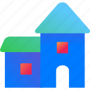 building, city, estate, home, house, property, real estate icon