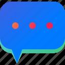 bubble, chat, communication, message, recommend, speech, talk icon
