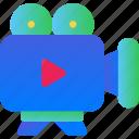 camera, cinema, film, media, movie, video icon