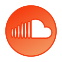 circle, gradient, gradient icon, icon, social media, soundcloud icon