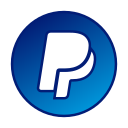 circle, gradient, gradient icon, icon, paypal, social media icon