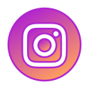 circle, gradient, gradient icon, icon, instagram, social media icon