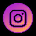 social media, instagram, gradient, gradient icon, circle