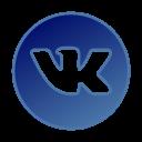 circle, gradient, gradient icon, icon, social media, vkontakte icon