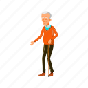 poor, elderly, aged, old, man, grandfather, cadge