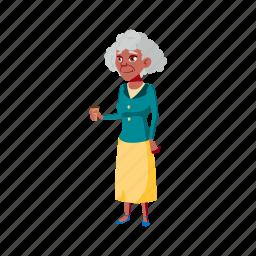 elderly, grandmother, senior, drinking, coffee, cafe, grandma