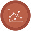 chart, economic, graphic, statistics icon