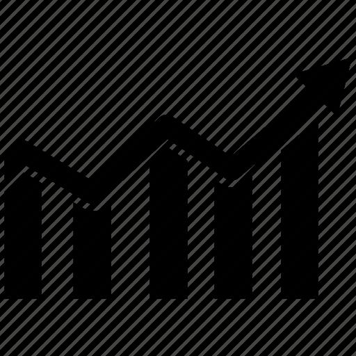 chart, graph, graph chart, monitoring, seo icon