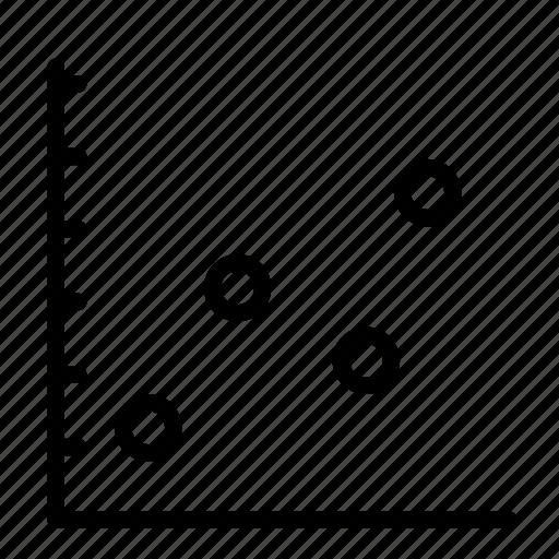 chart, graph, line graph icon