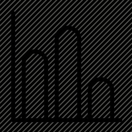 bar graph, chart, graph icon