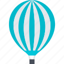 balloon, blimp, discover, explore, flat design, travel icon