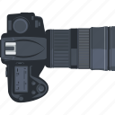 camera, editor, flat design, gallery, photo, photography icon