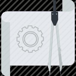 development, flat design, management, project, prototype icon