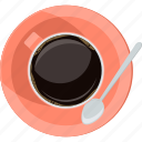 break, coffee, flat design, rest, time icon