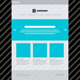 app, design, development, flat design, page, web, website icon