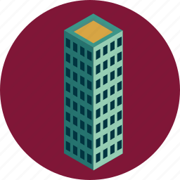 architecture, building, city, estate, hotel, office, property icon
