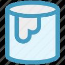 bucket, color, creative, design, graphic, graphic design, paint icon