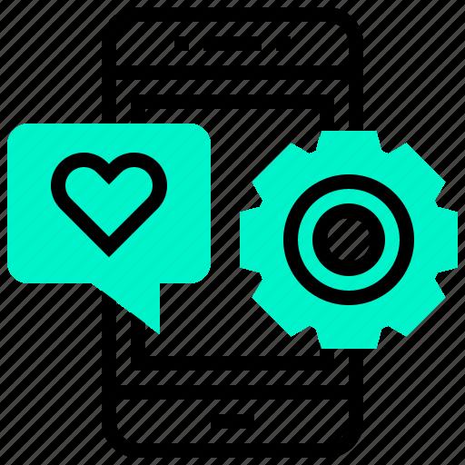 application, development, favourite, phone, system icon