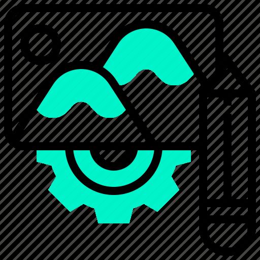 editor, image, modify, photograph, program icon