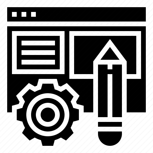 editor, program, rewrite, setting, text icon