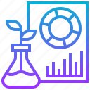 environment, report, research, trend, visualisation icon