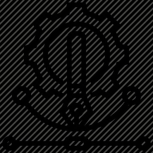 artwork, design, figure, illustration, integration icon