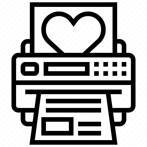 design, image, machine, paper, print icon