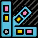 art, color, design, graphic, paint, palette, shape icon