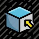 cube, design, graphic, rotate, shape, tool