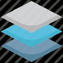 creative, design, graphic, layer, layers, stack icon