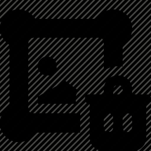 design, graphic, picture, trash icon