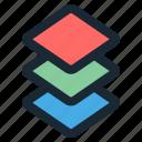 design, development, graphic, layer, tool icon