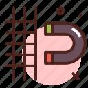 design, grid, illustration, snap, tool icon