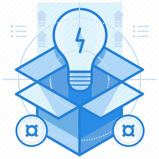 box, idea, out, thinking, thought icon
