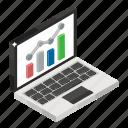 capital market, data analytics, data visualization, infographic, online data, statistics, stock market icon
