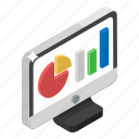 data analytics, statistics, capital market, infographic, data visualization, online data, stock market icon