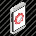 app configuration, app developer, app development, mobile development, mobile setting icon