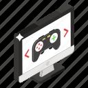 artistic model, creative visuals, game design, game development, game idea, gamification icon