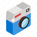 camera, instant camera, photo cam, photographic equipment, video camera icon