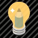 creative design, creative idea, creative process, digital art, idea design, innovation icon