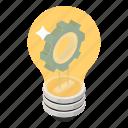 bright idea, creative idea, creative technology, idea management, innovation icon