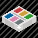 \, color catalog, color guide, color palette, color swatches, paint swatches icon