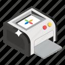 printer, printing machine, typesetter, typographerm, wireless printer icon
