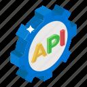 api interface, app development, app settings, application programming interface, software application icon