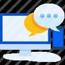 chat, communication, conversation, message, mobile, network, social