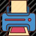 printer, print, device, machine, paper, fax, printing
